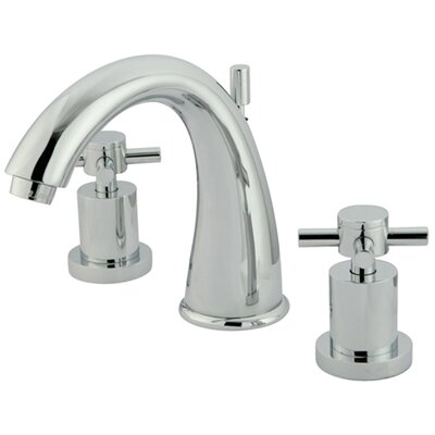 South Beach Double Cross Handle Widespread Bathroom Faucet Finish: Polished Chrome
