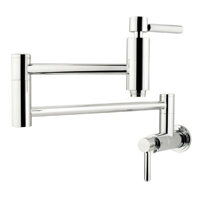 South Beach Wall Mount Pot Filler Finish: Polished Chrome