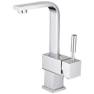 South Beach Single Handle Centerset Bathroom Faucet with Push-Up Pop-Up Drain Finish: Polished Chrome