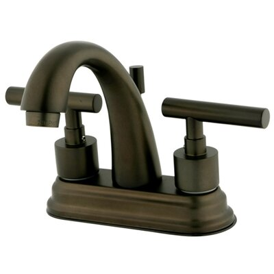 Sydney Centerset Bathroom Faucet with Brass Pop-Up Less Handles Finish: Oil Rubbed Bronze
