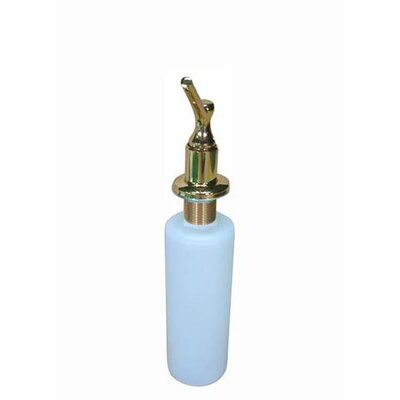 Decorative Soap Dispenser Finish: Polished Brass
