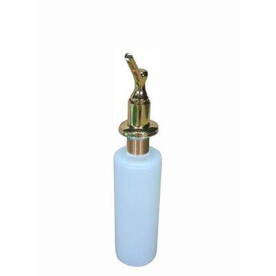 Decorative Soap Dispenser Finish: Polished Brass