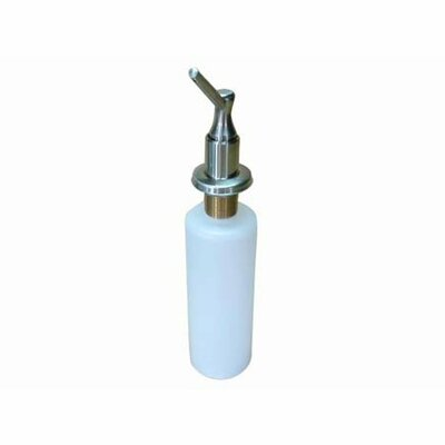 Decorative Soap Dispenser Finish: Satin Nickel