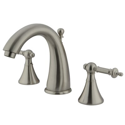 Widespread Bathroom Faucet Finish: Satin Nickel
