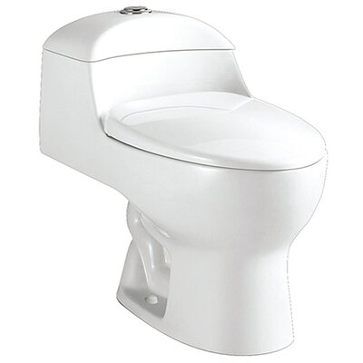 Congress 1.6 GPF Elongated One-Piece Toilet
