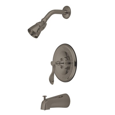 Elements of Design Century Single Handle Tub and Shower Faucet - Finish: Satin Nickel at Sears.com
