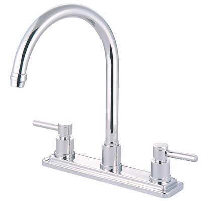 Concord Double Handle Kitchen Faucet Finish: Polished Chrome