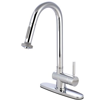Concord Single Handle Kitchen Faucet Finish: Polished Chrome