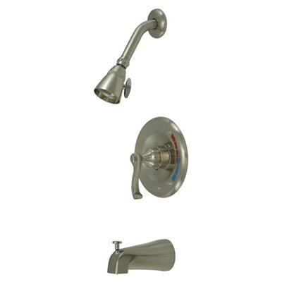 Royal Trim Kit with French Lever Handles Finish: Satin Nickel