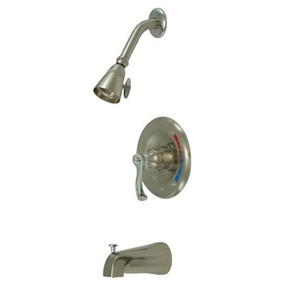 Royal Trim Kit with French Lever Handles Finish: Satin Nickel / Polished Chrome