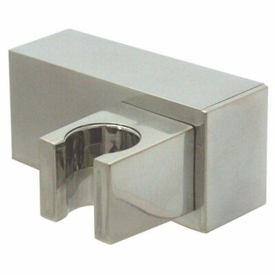 Rio Non-Metallic Shower Bracket Finish: Satin Nickel