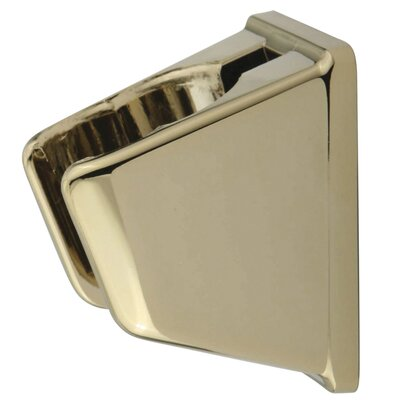 Wall Bracket For Personal Hand Shower and Kitchen Sprayer Finish: Polished Brass