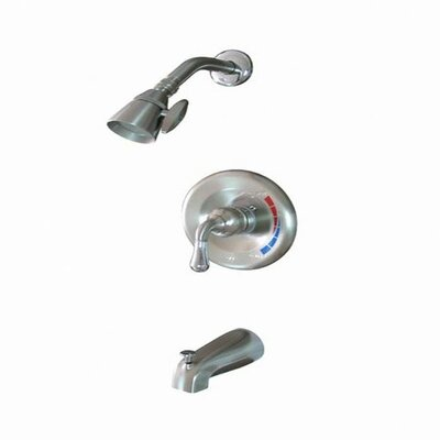 St. Charles Volume Control Tub and Shower Faucet Trim Finish: Satin Nickel / Polished Chrome