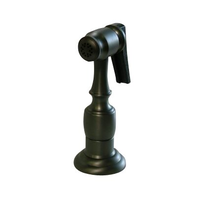Brass Kitchen Side Sprayer with Hose Finish: Oil Rubbed Bronze