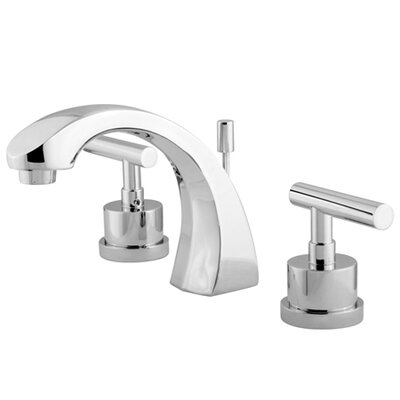 Sydney Double Handle Widespread Bathroom Faucet Finish: Polished Chrome