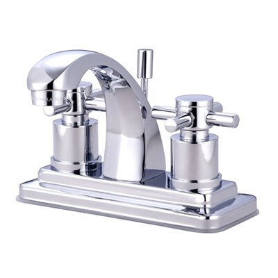 South Beach Double Cross Handle Centerset Bathroom Faucet