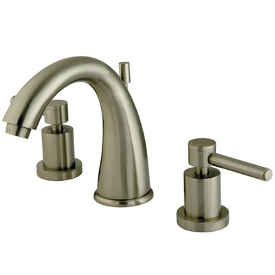 South Beach Double Handle Widespread Bathroom Faucet Finish: Satin Nickel