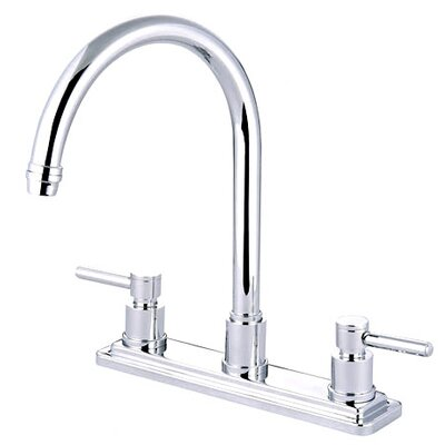 South Beach Double Handle Kitchen Faucet Finish: Polished Chrome