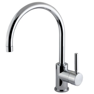 South Beach Single Handle Vessel Sink Faucet without Pop-Up and Plate Finish: Polished Chrome
