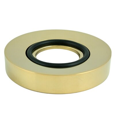 South Beach Mounting Vessel Sink Ring Finish: Polished Brass