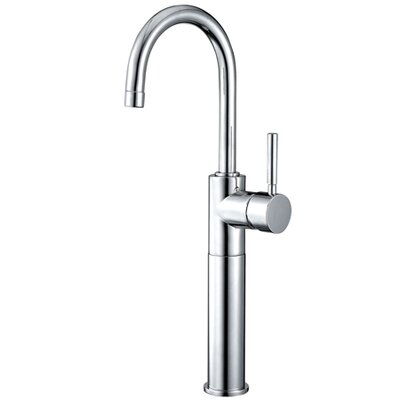 South Beach Single Handle Vessel Sink Faucet without Pop-Up Finish: Polished Chrome