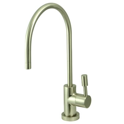 South Beach Single Handle Water Filtration Faucet Finish: Satin Nickel