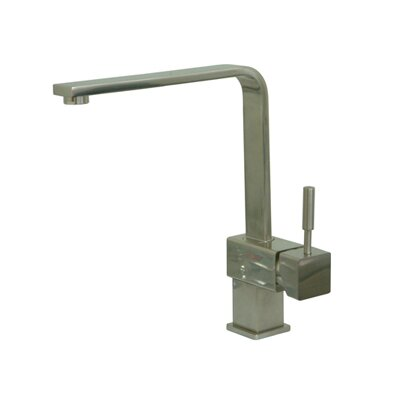 South Beach Single Handle Single-Hole Kitchen Faucet Finish: Satin Nickel