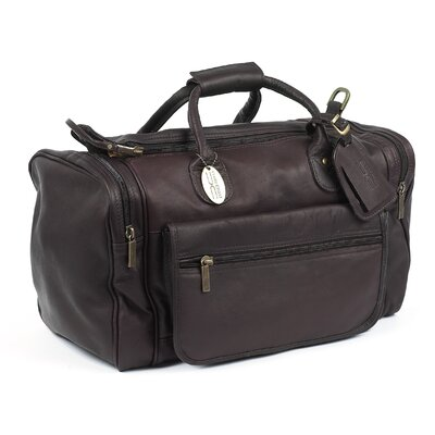 """Classic Sports Valise 18"""" Travel Duffel Color: Caf"""