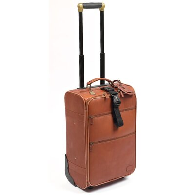 "Classic 21"" Pullman Suitcase 231-Saddle"