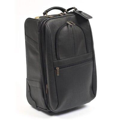"""Expandable 21"""" Pullman Suitcase 240-Black"""