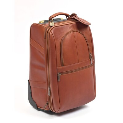 "Expandable 21"" Pullman Suitcase 240-Saddle"