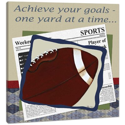 Sports Football in the News Canvas Art DBP1310