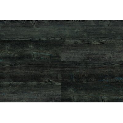 7 x 46 x 9.5mm Luxury Vinyl Plank in Graphite