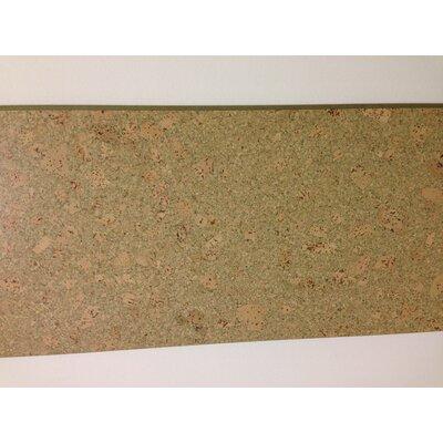 12 Cork Flooring in Mars Green