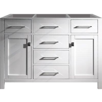 Templeton 48 Bathroom Vanity Base Base Finish: White