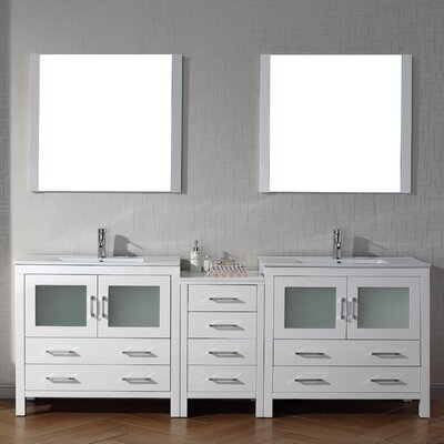 Single Bathroom Vanity Base in 36 Finish: White
