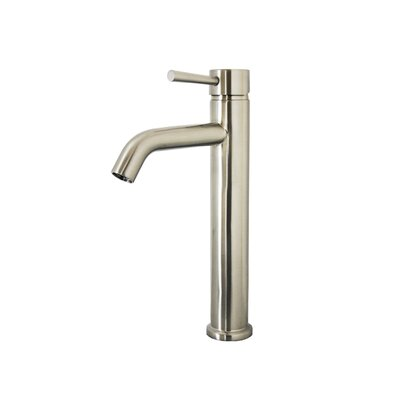 Hydron Single Handle Single Hole Bathroom Faucet Finish: Brushed Nickel