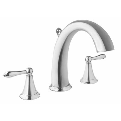 Bob Double Handle Widespread Faucet Finish: Polished Chrome