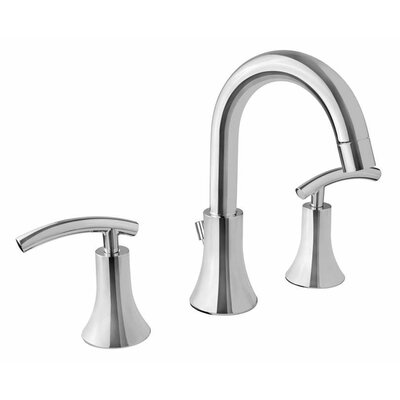 Athen Double Handle Widespread Faucet Finish: Polished Chrome