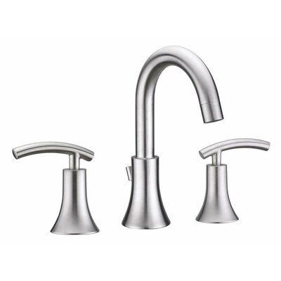Athen Double Handle Widespread Faucet Finish: Brushed Nickel