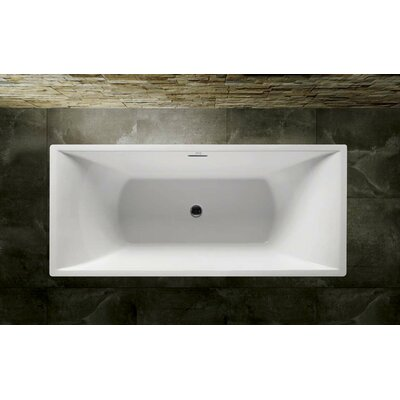 Serenity 71 x 32 Soaking Bathtub