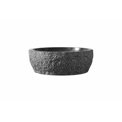 Melia Stone Circular Vessel Bathroom Sink