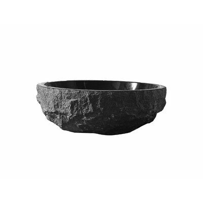 Adonia Stone Circular Vessel Bathroom Sink
