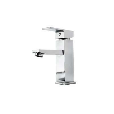Orion Single Handle Single Hole Bathroom Faucet Finish: Polished Chrome