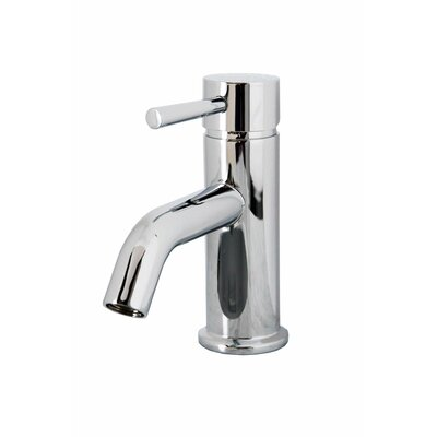 Beizi Single Handle Single Hole Bathroom Faucet Finish: Polished Chrome