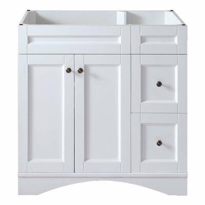 Elise 36 Bathroom Vanity Cabinet Base Finish: White