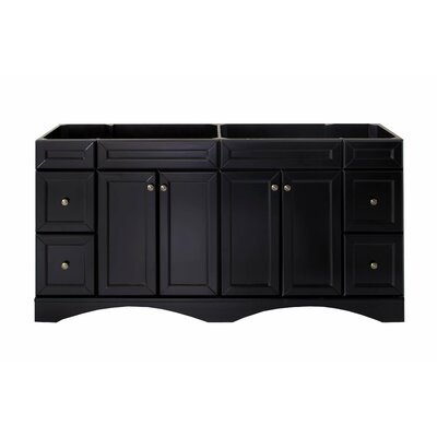 Rosado 71 Bathroom Vanity Cabinet Base Finish: Espresso