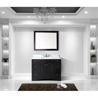 Bob 48 Single Bathroom Vanity Set with Mirror