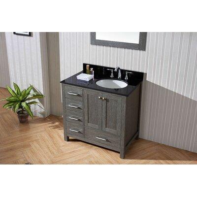 Caroline Premium 35 Single Bathroom Vanity Set with Mirror