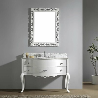 Polak 47 Single Bathroom Vanity Set with Mirror